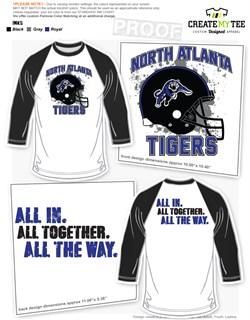 Football T-Shirt & Apparel Designs | CreateMyTee
