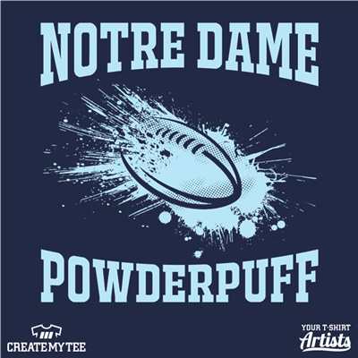 Notre Dame, Powder Puff, Football