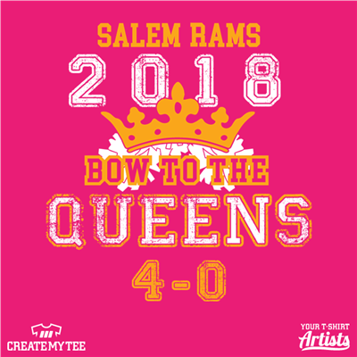 Salem Rams Cheer Queens
