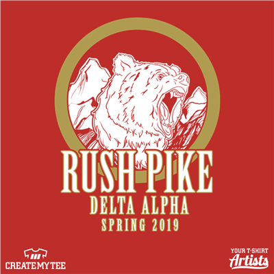 Pi Kappa Alpha, Greek, Rush, Bear, Mountains