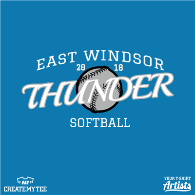 East Windsor Thunder Softball 2018