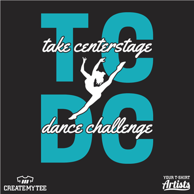 TCDC, Take Centerstage Dance Challenge (2 color)