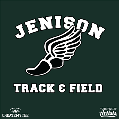 Jenison Track & Field (10 inches)