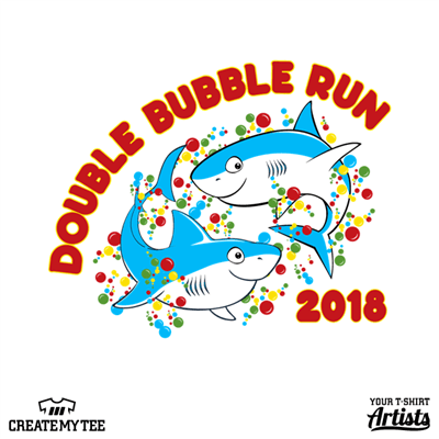 Double Bubble Run 2018, Sharks