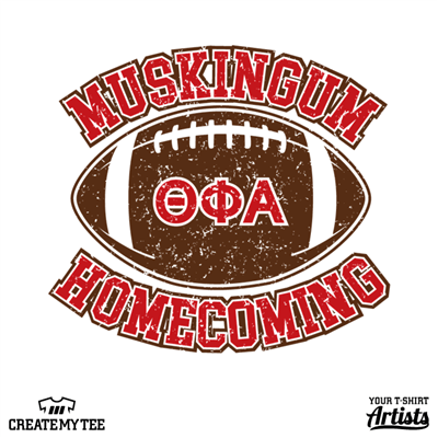 Muskingum Homecoming, Football, Greek, Theta Phi Alpha