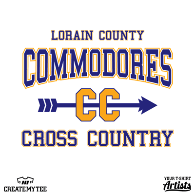 Lorain County Commodores, Cross Country