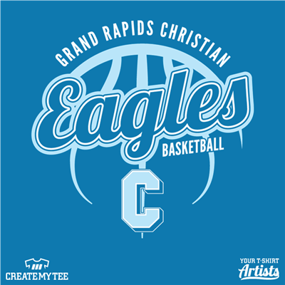 Eagles, Basketball, Grand Rapids, Christian, School
