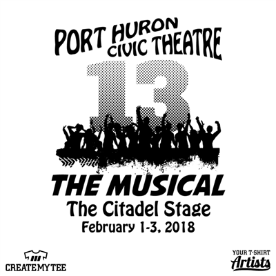 Port Huron, Civic Theatre, Theatre, Musical, Citadel, 13