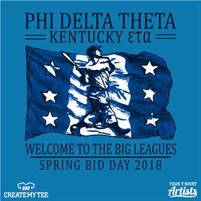 PHI DELTA THETA, Baseball, Big Leagues, Kentucky, Greek, Bid Day