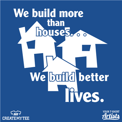 Habitat, Humanity, Building, Lives