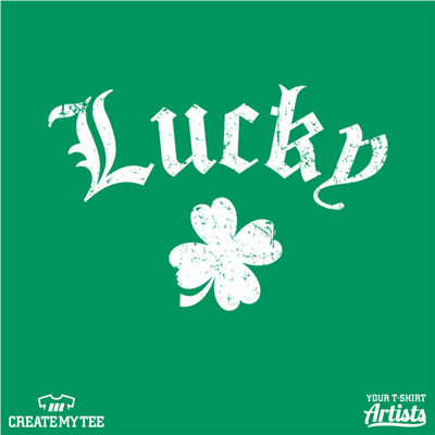 Lucky, St Patricks, Clover, Holiday, Amazon