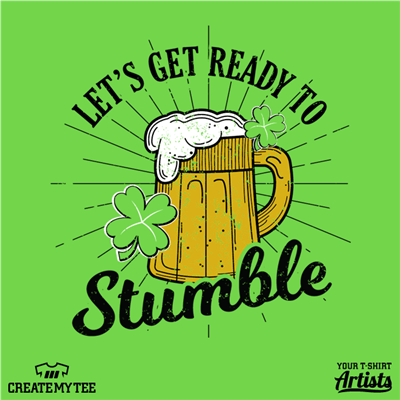 Amazon, Ready to Stumble, Beer, St Patricks, Clover