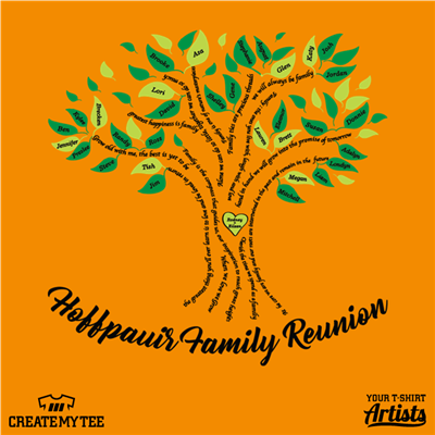 Hoffpauir, Family, Reunion, Tree, Names
