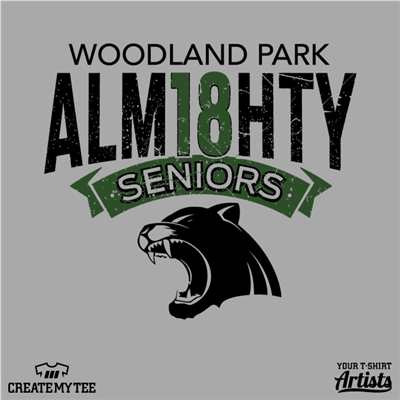 Woodland Park, High School, Senior, Almighty, Alm18hty