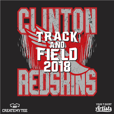 Clinton, High School, Track, Field, School, Sports
