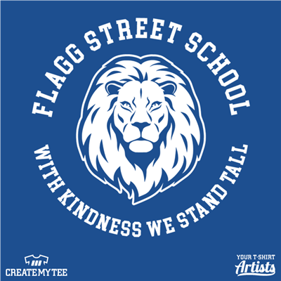 Flagg, Street, School, Kindness