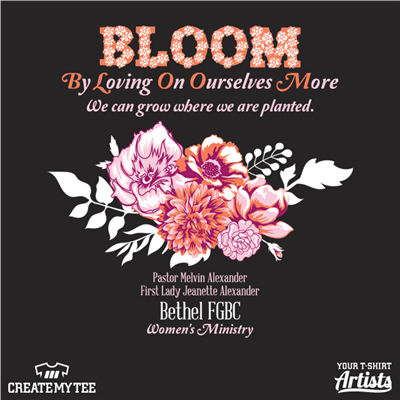 Bethel, Full Gospel, Baptist, Church, Bloom, Flowers, Flower