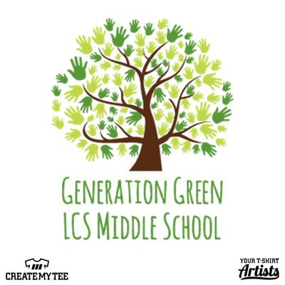 Generation, Green, Middle, School, Tree, Hands