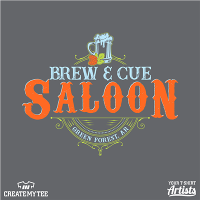Brew & Cue, Brewery, Billards, Cue, Pool, Saloon, Beer, Drinking, Logo, 12