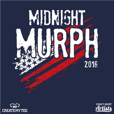 Midnight Murph, Murph, Flag, Crossfit, Fitness