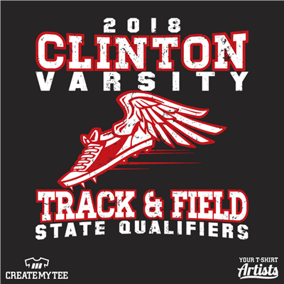 Clinton State Qualifier, Clinton, Track, Field, Running, Sports, School