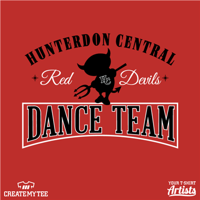 HCDT, Devil, Devils, Red Devils, Dance, Team