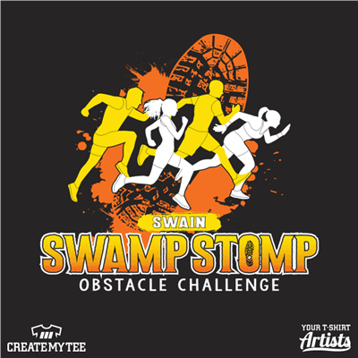 Swain Swamp Stomp, Swamp, Stomp, Run, Road Race, Race, 2018