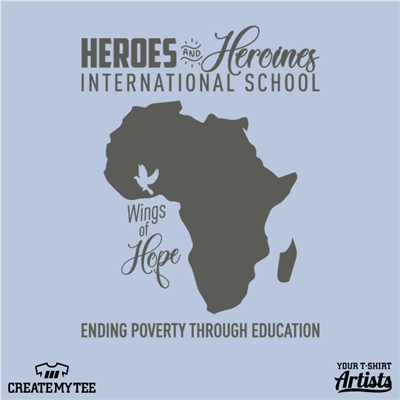 Wings of Hope, Heroes and Heroines, Africa, Poverty, Education