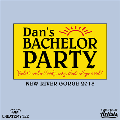 Bachelor, Party, Tudor's, Biscuit World, Logo, Dan's