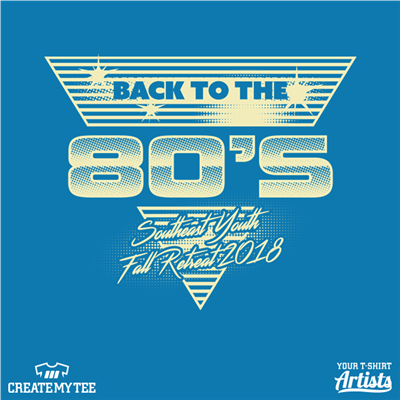 Back to the 80s, 80s, 1980s, Memphis, Retro