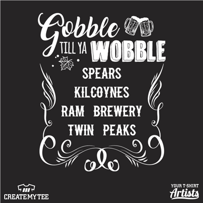 Gobble, Wobble, Bars, Bar Crawl, List