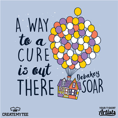 soar fundraiser, Soar, Debakey, Cure, A Way To A Cure Is Out There, Balloons, House