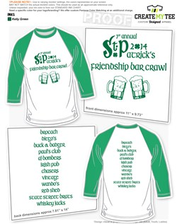 36006df58 St. Patrick's Day T-Shirt Designs | CreateMyTee