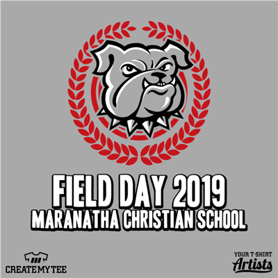 Maranatha Christian School, Field Day, Bulldog