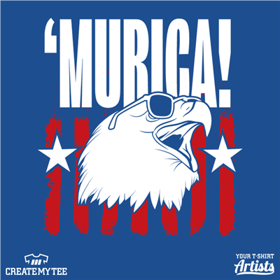 Murica, Eagle, Sunglasses