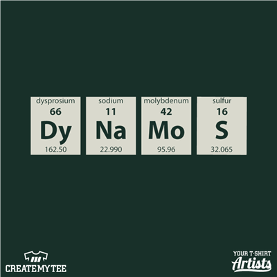 Periodic Table, Chemistry Club, Dynamos
