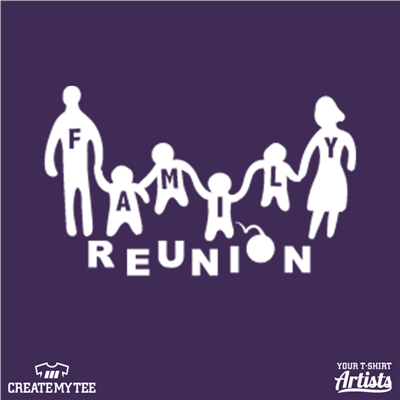 Family Reunion Silhouette