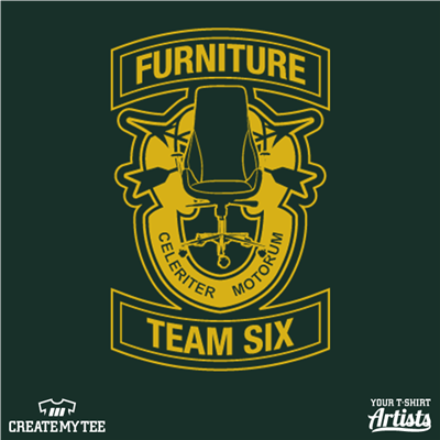 Furniture Team Six 3 in