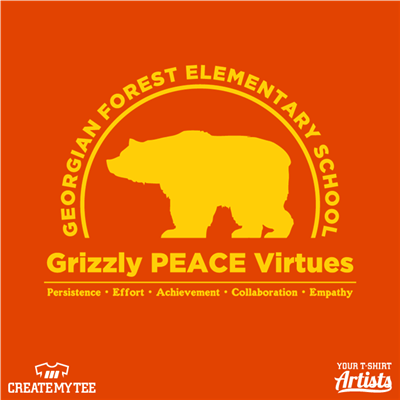 GFES 10 in, Grizzly