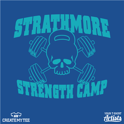 Strathmore Strength Camp, Skull, Weightlifting