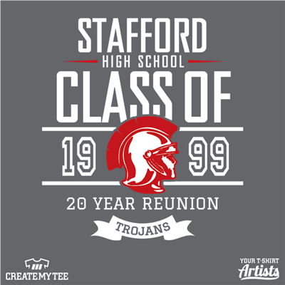 Stafford, Class of 1999, 20 Year Reunion, High School, Trojans