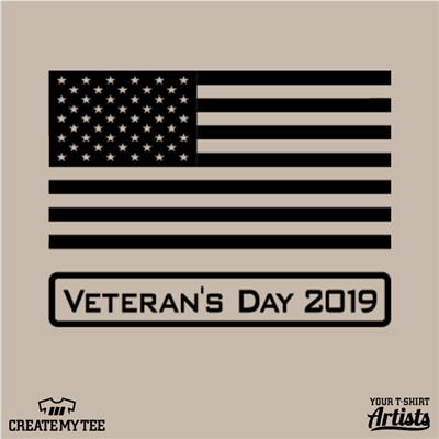 Veteran's Day, 2019, Flag, America