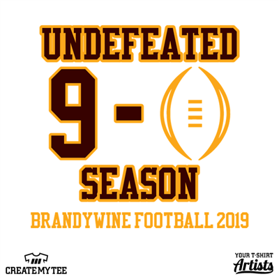Undefeated Season, Football, High School, Sports, Brandywine