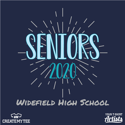 Seniors, Widefield High School, 2020