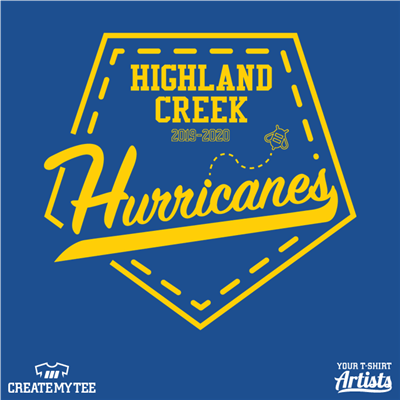hurricanes, highlandcreek, yellow, bee