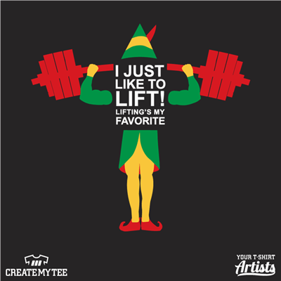 crossfit, central, oregon, christmas, elf, lift