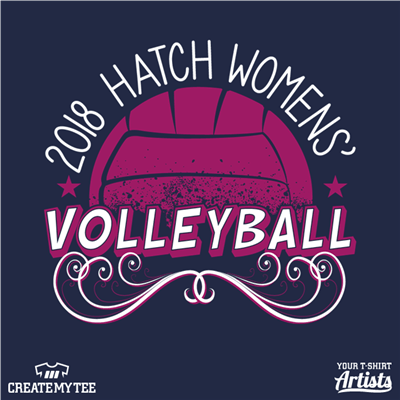 2018 Hatch Womens' Volleyball, Volleyball
