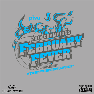 February Fever, PIVA, Volleyball