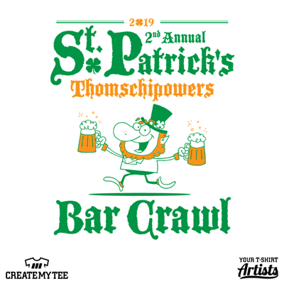 2019 St. Patrick's Bar Crawl, Leprechaun