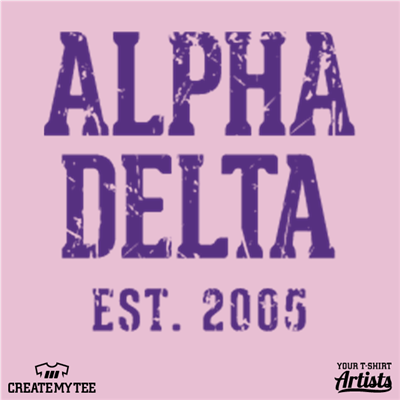 Alpha Delta, Greek